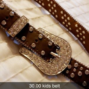 Other - Girls bling cowgirl belt